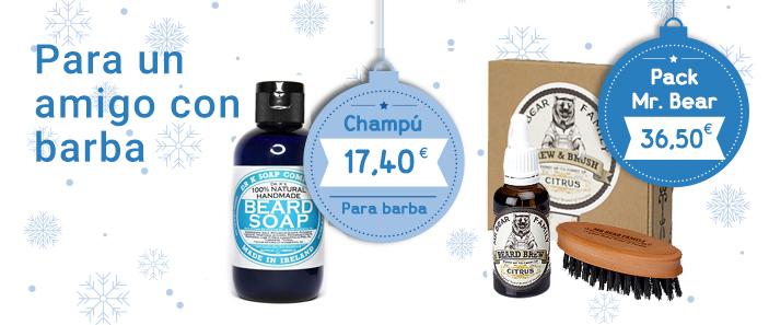 Ideas regalos para hombres: Para hombres con barba