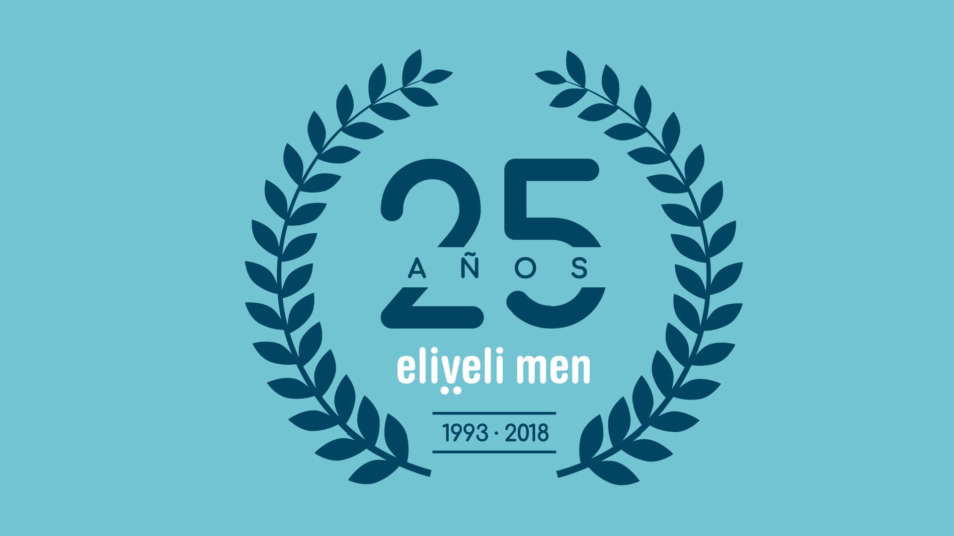 25 aniversario eliveli men