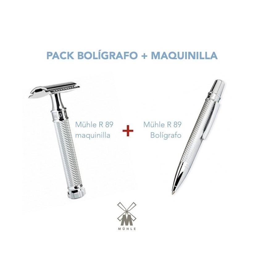 PACK Bolígrafo R 89 + Maquinilla R 89 twist Mühle