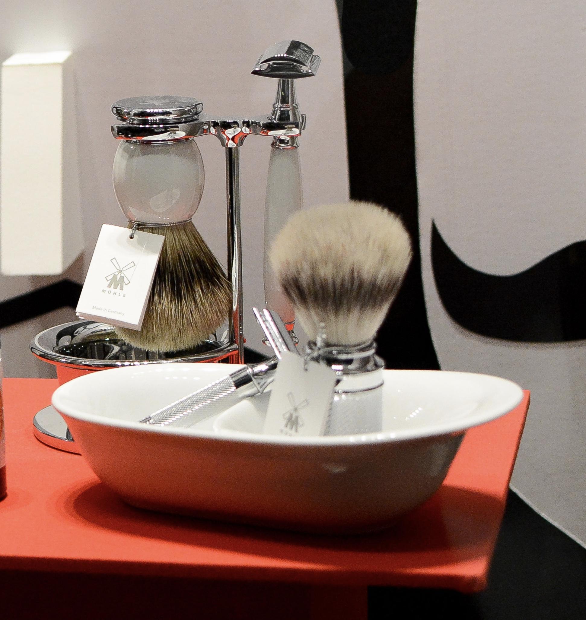 Cómo cuidar una brocha de afeitado clásico