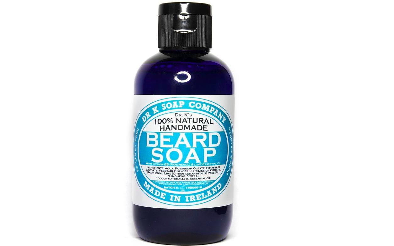 Champú para barba de Dr. K. Soap Company - Fresh Lime