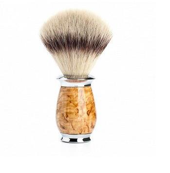 Brocha de Afeitar Pelo de Tejón Mühle - Purist - Mango de Madera Abedul