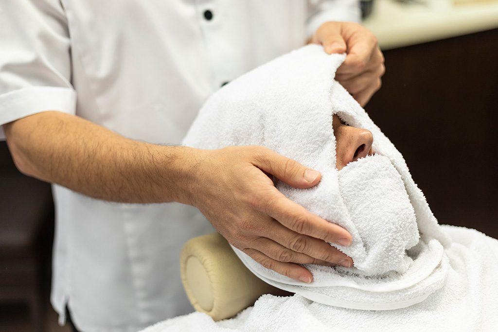 Afeitado clásico en Donostia - San Sebastián