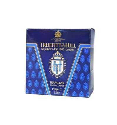Crema de Afeitar Truefitt & Hill - Trafalgar - 190 g Comprar en Elivelimen Shop. Tienda online de Jabones y cremas de afeitar.