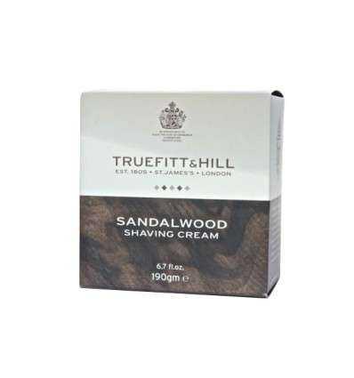 Crema de Afeitar Truefitt & Hill - Sándalo - Tarro 190 g Comprar en Elivelimen Shop. Tienda online de Jabones y cremas de afeita