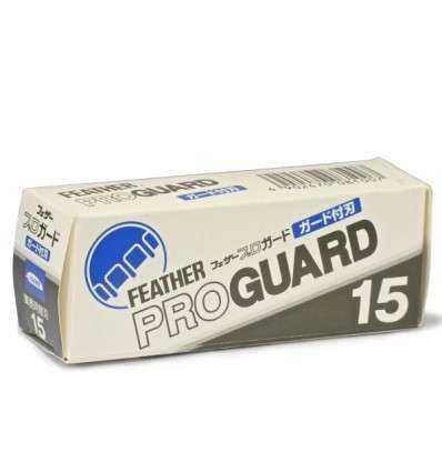 Cuchillas de Afeitar Feather - Proguard - Dispensador 15 Cuchillas - comprar online elivelimenshop