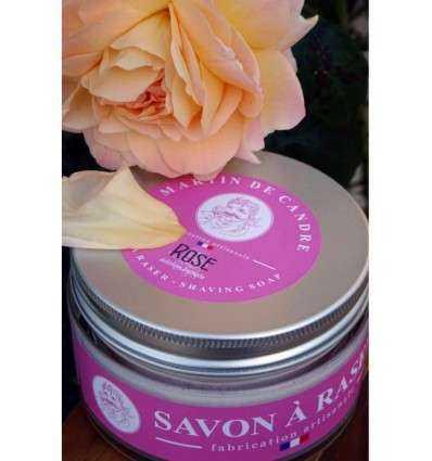 Jabón de Afeitar Martin de Candre - Rosas 200 g - comprar online elivelimenshop