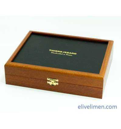 Caja para 7 Navajas con Espejo Thiers-Issard Comprar en Elivelimen Shop. Tienda online de Accesorios para el Afeitado Clásico.