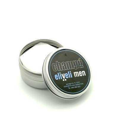 Champú Sólido Eliveli Men 70 g - en envase de aluminio