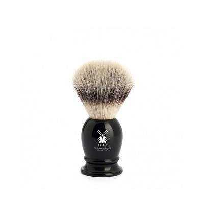 Brocha de Afeitar Pelo Sintético Mühle - Color Negro Talla S - Comprar online elivelimenshop