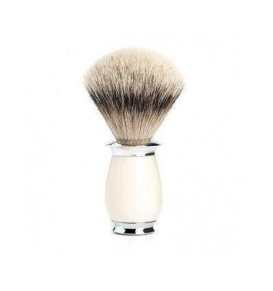 Brocha de Afeitar Pelo de Tejón Mühle - Purist - Mango Color Crema Comprar en Elivelimen Shop. Tienda online de Brochas de Afeit