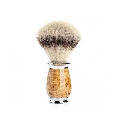 Brocha de Afeitar Pelo Sintético Mühle - Purist - Mango de Madera Abedul Comprar en Elivelimen Shop. Tienda online de Brochas de