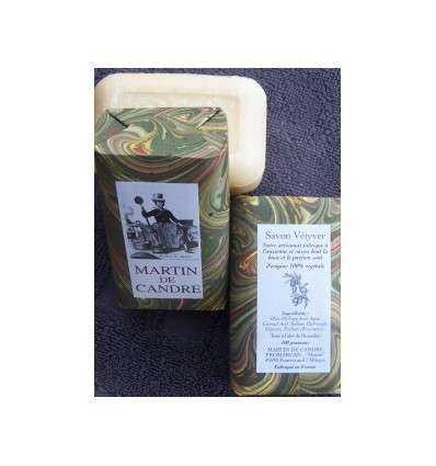 Jabón Corporal Martin de Candre - Vetiver 100 g - comprar online elivelimenshop