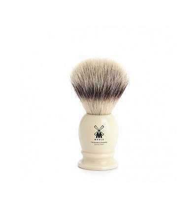 Brocha de Afeitar Pelo Sintético Mühle - Color Crema Talla S - Comprar online elivelimenshop