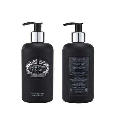 Gel de Baño Portus Cale Black Edition 300ml con Dosificador-comprar online elivelimenshop