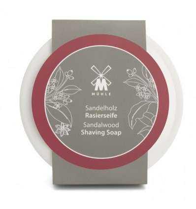 Jabón de Afeitar Mühle Sándalo + Jabonera Comprar en Elivelimen Shop. Tienda online de Jabones y cremas de afeitar.