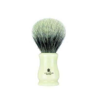 """Brocha de Afeitar Vie-long 16651 - Tejón Blanco """"dos bandas"""" Comprar en Elivelimen Shop. Tienda online de Brochas de Afeitar de"""