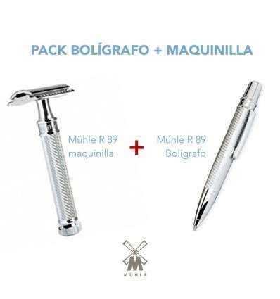 PACK Bolígrafo R 89 + Maquinilla R 89 twist Comprar en Elivelimen Shop. Tienda online de Maquinillas de afeitar clásicas.