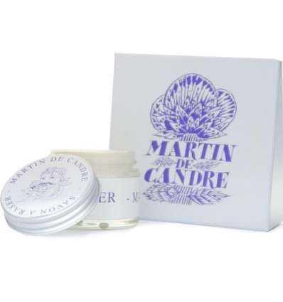 Jabón de afeitar sin perfume 50 grs de Martin de Candre