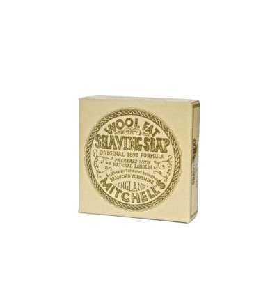 Jabón de Afeitar-Mitchell´s Wool Fat 125 g recambio, comprar online elivelimenshop